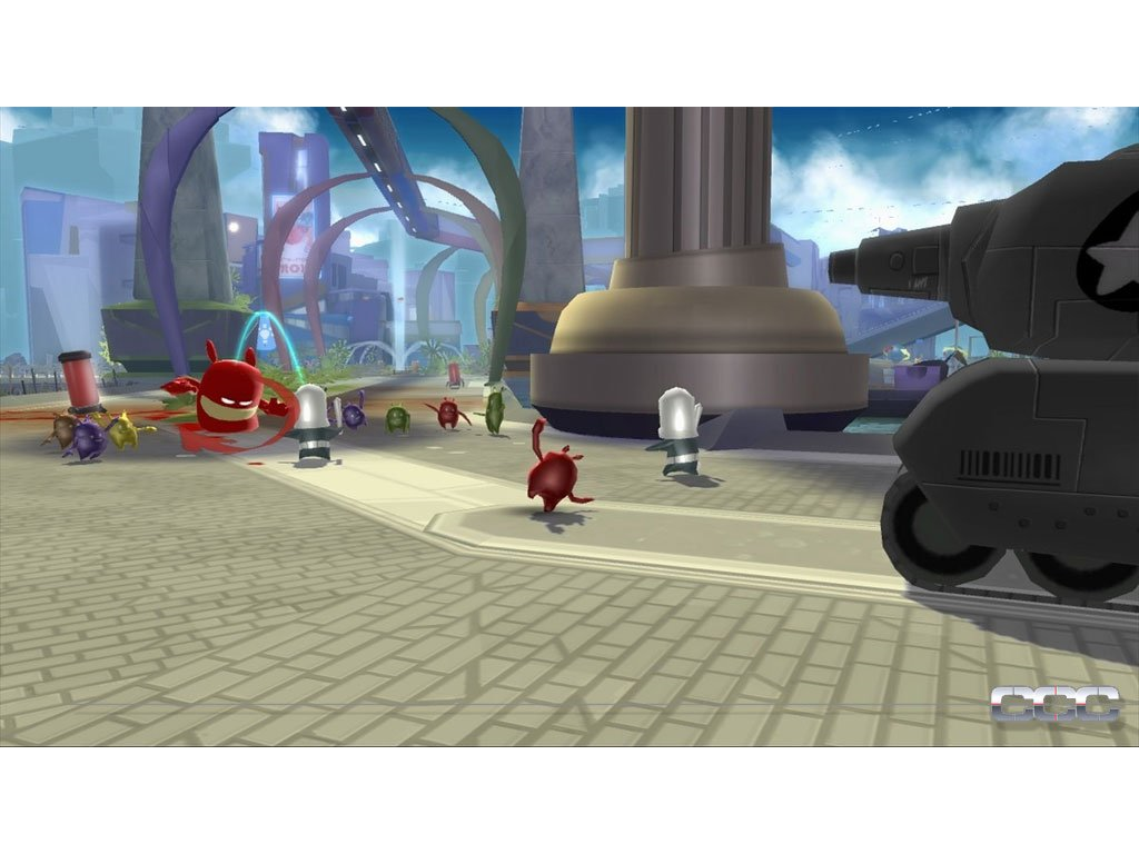 Nintendo Wii de Blob