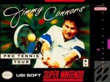 Nintendo SNES Jimmy Connors Pro Tennis Tour - NTSC verzia