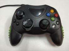 [Xbox Original] Drôtový ovládač - čiernozelený (estetická vada)