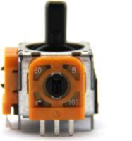 [PS4] 3D Joystick Analog Stick - Analog joystick kocky - oranžová - 3-pin (nová)