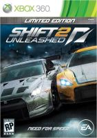 Xbox 360 NFS Need For Speed Shift 2 Unleashed