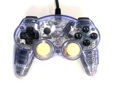 [PS2] Drôtový Ovládač Mad Catz MicroCon - priehľadný