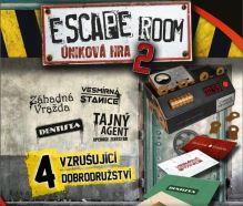 Escape Room 2: Úniková Hra - 4 scenáre (nová)