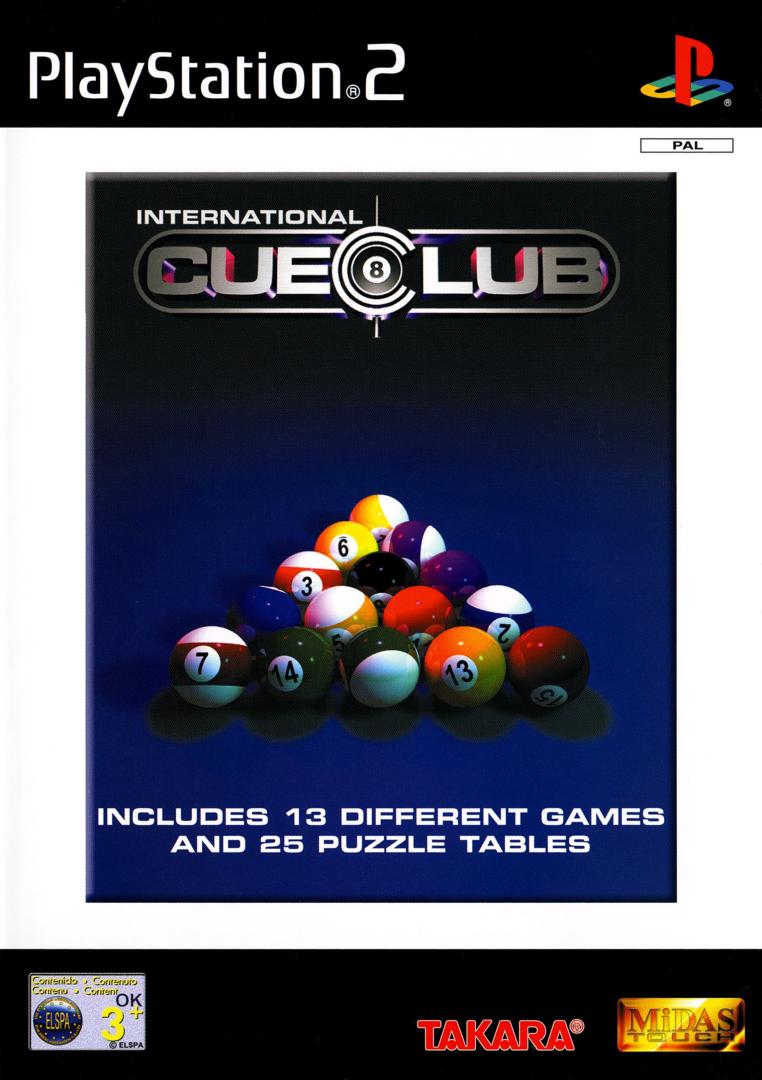 PS2 International Cue Club