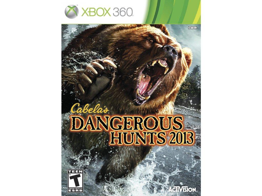 Xbox 360 Cabelas Dangerous Hunts 2013