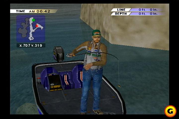 PS2 Fisherman's Challenge