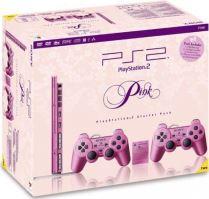 PlayStation 2 Slim Ružový + 2x Dualshock + Originálne balenie