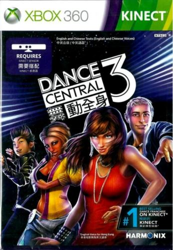 Xbox 360 Kinect Dance Central 3