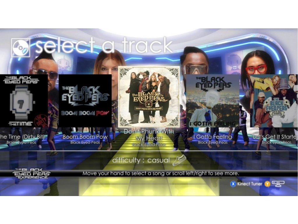 Nintendo Wii The Black Eyed Peas Experience