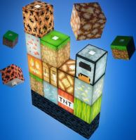 Minecraft usb kocky (nové)