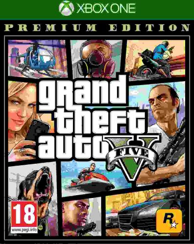 Xbox One GTA 5 Grand Theft Auto V - Premium Edition (nová)