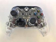 [Xbox One] [PC] Drôtový Ovládač Afterglow Prismatic - priehľadný (estetická vada)