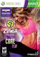 Xbox 360 Kinect Zumba Fitness Core