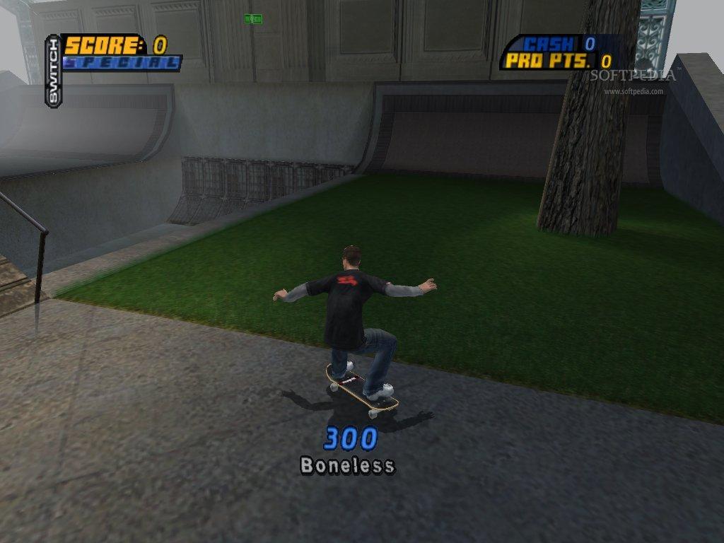 PS2 Tony Hawks Pro Skater 4 (DE)