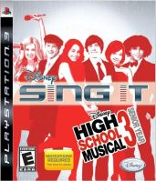 PS3 Disney Sing It: High School Musical 3