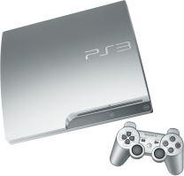 PlayStation 3 Slim 320 GB - strieborná