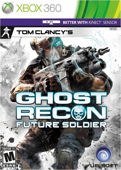 Xbox 360 Tom Clancys Ghost Recon Future Soldier