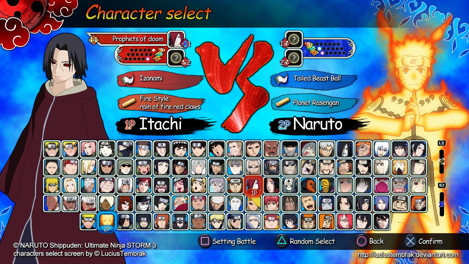 PS3 Naruto Ultimate Ninja Storm 3