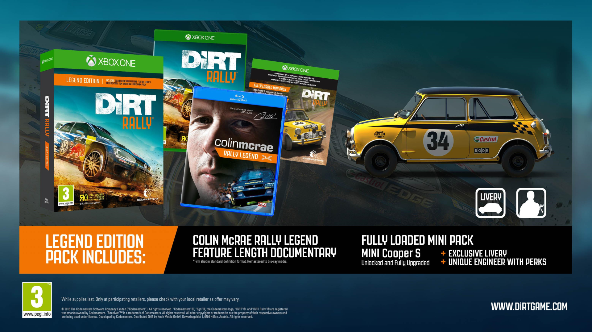 Xbox One Dirt Rally Legend Edition