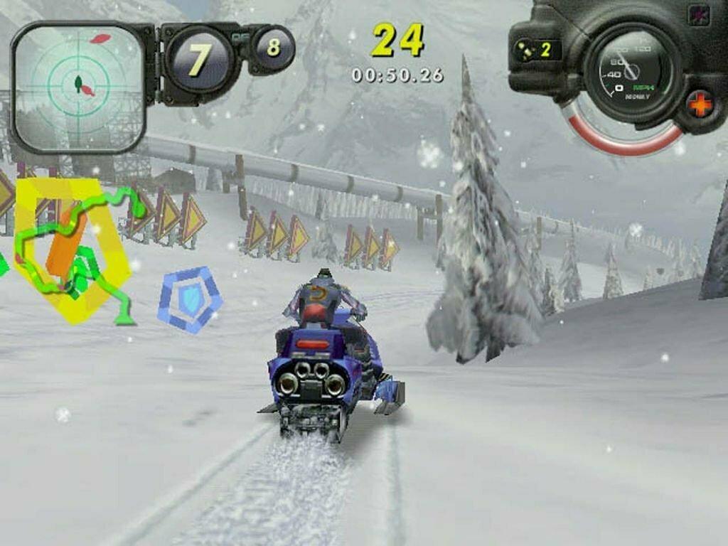 PS2 Arctic Thunder