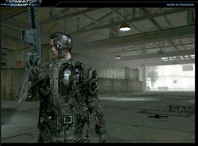 PS2 Terminator 3 The Redemption