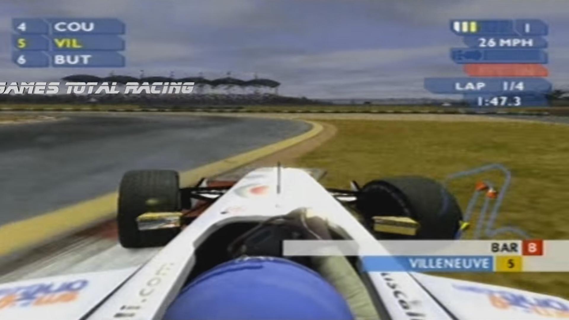 PS2 F1 Career Challenge