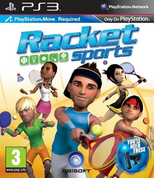 PS3 Move Racket Sports