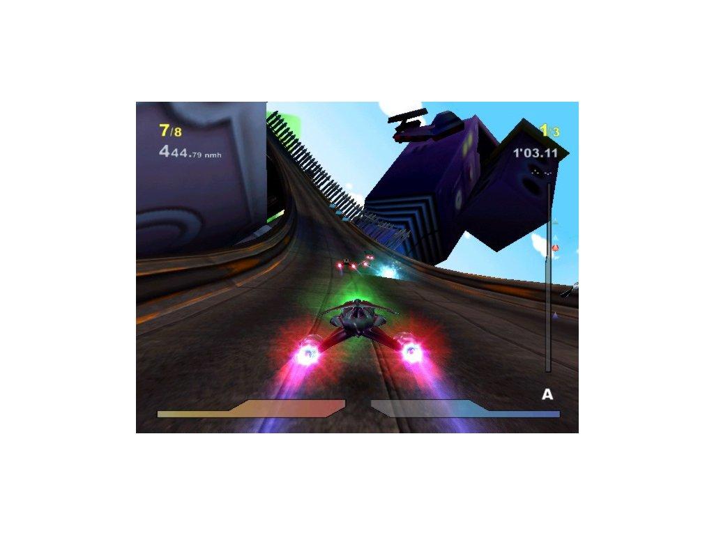 PS2 Megarace 3 Nanotech Disaster