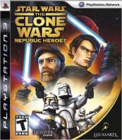 PS3 Star Wars The Clone Wars: Republic Heroes (bez obalu)