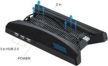 [PS4] Multifunkčný chladiaci stojan s USB HUB PS4 PRO (nový)