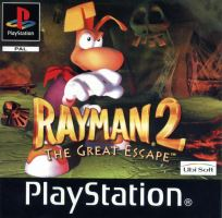 PSX PS1 Rayman 2 The Great Escape