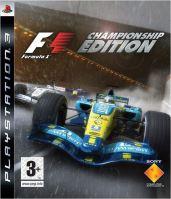 PS3 F1 Championship Edition Formula One