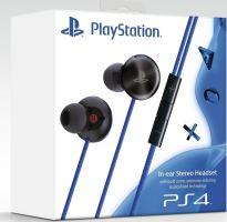 [PS4] Sony PlayStation In-ear Stereo Headset - čierny (bez špuntov) (estetické vady)