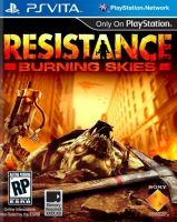 PS Vita Resistance Burning Skies (DE)