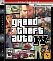 PS3 GTA 4 Grand Theft Auto IV (nová)