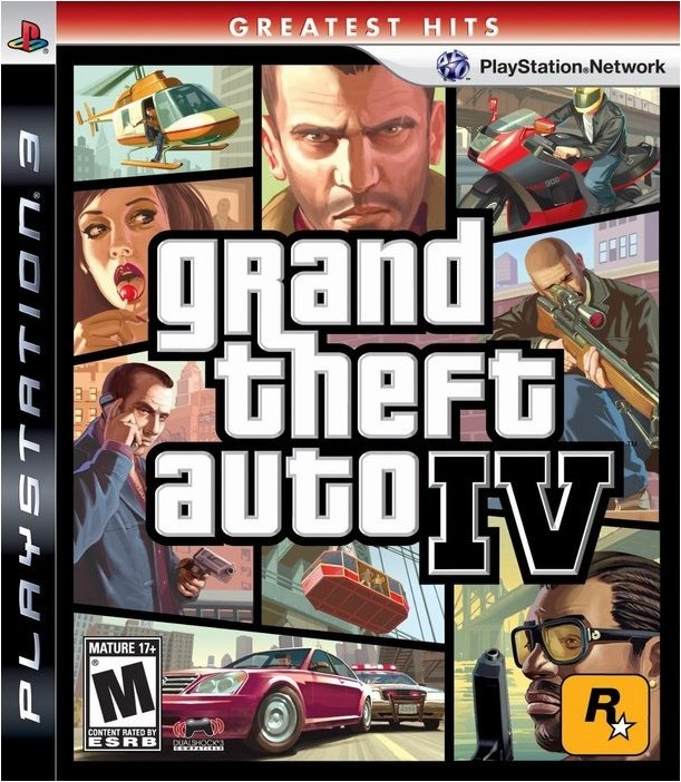 PS3 GTA 4 Grand Theft Auto IV