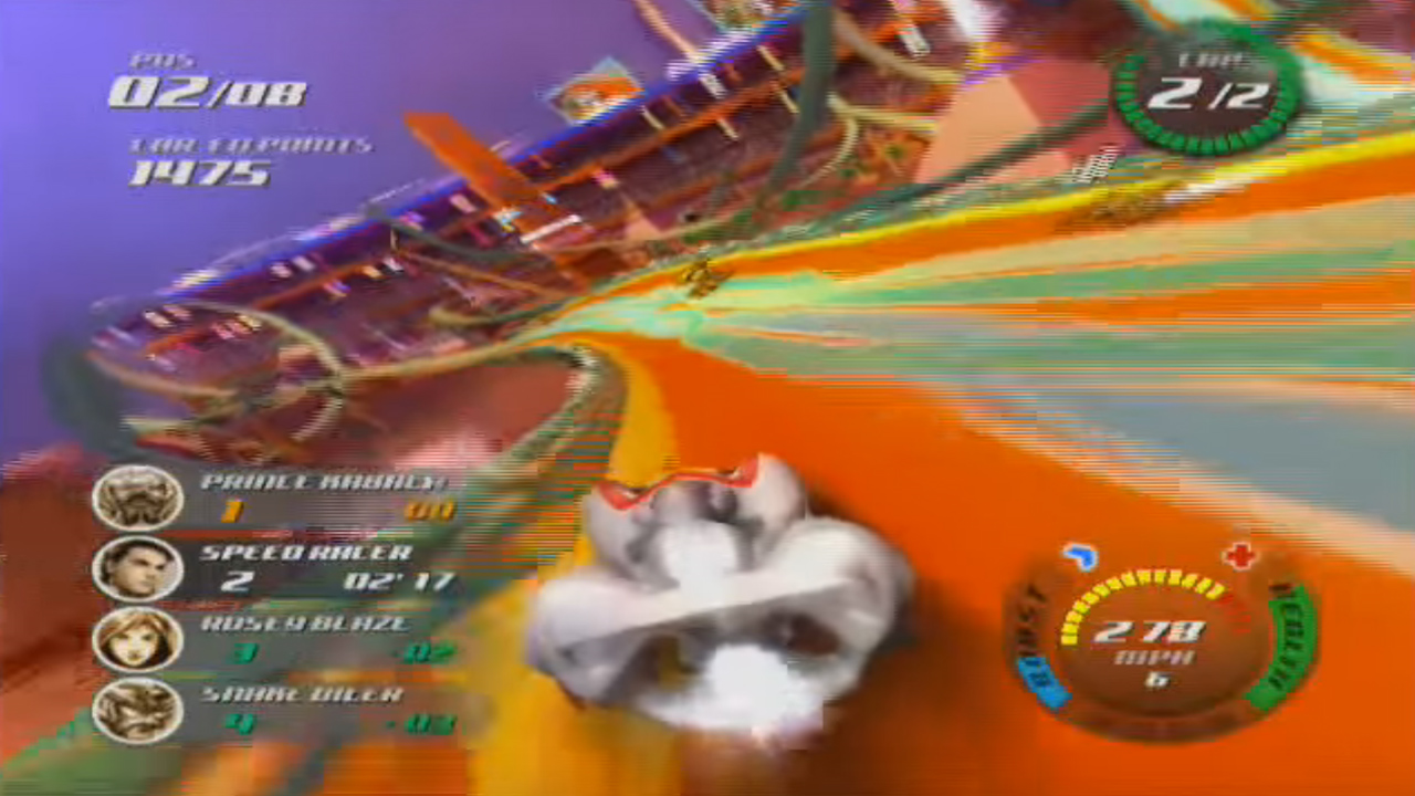 Nintendo Wii Speed Racer