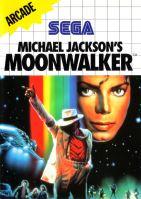 Sega Master System Michael Jacksons Moonwalker (estetické vady)