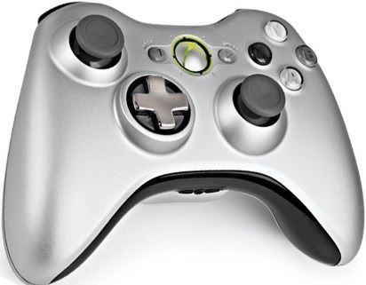 [Xbox 360] Bezdrôtový Ovládač Microsoft - strieborný
