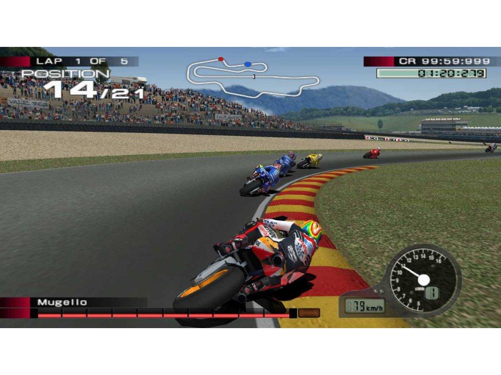 PS2 Moto GP 4