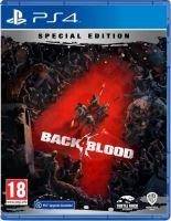 PS4 Back 4 Blood (Nová)