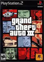 PS2 GTA 3 Grand Theft Auto III (18+, necenzurované) (bez obalu)