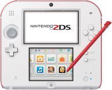 Nintendo 2DS červenobiele