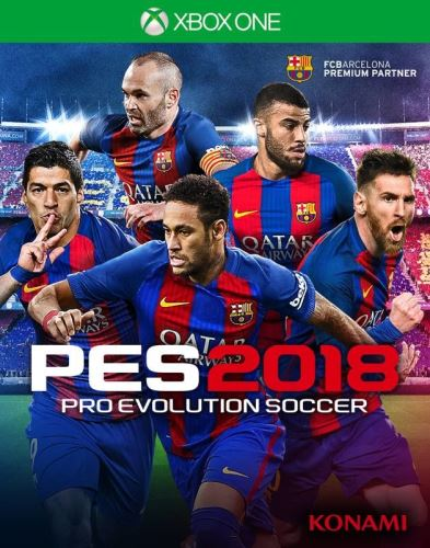 Xbox One PES 18 Pro Evolution Soccer 2018