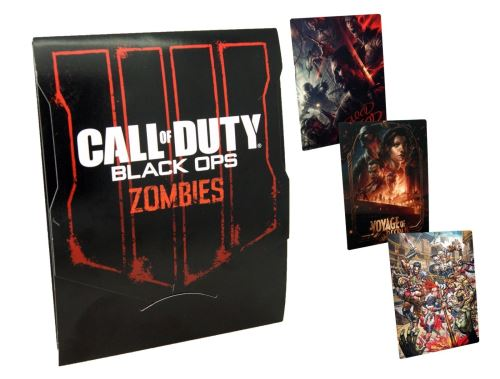 Limitované karty Call of Duty: Black Ops 4 - Zombies