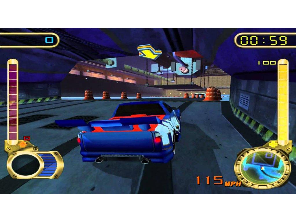 PS2 Hot Wheels Velocity X Maximum Justice