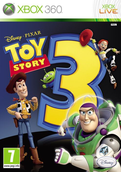 Xbox 360 Príbeh Hračiek - Toy Story 3 (DE)