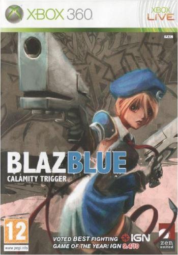 Xbox 360 BlazBlue Calamity Trigger