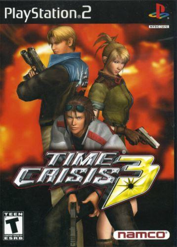 PS2 Time Crisis 3