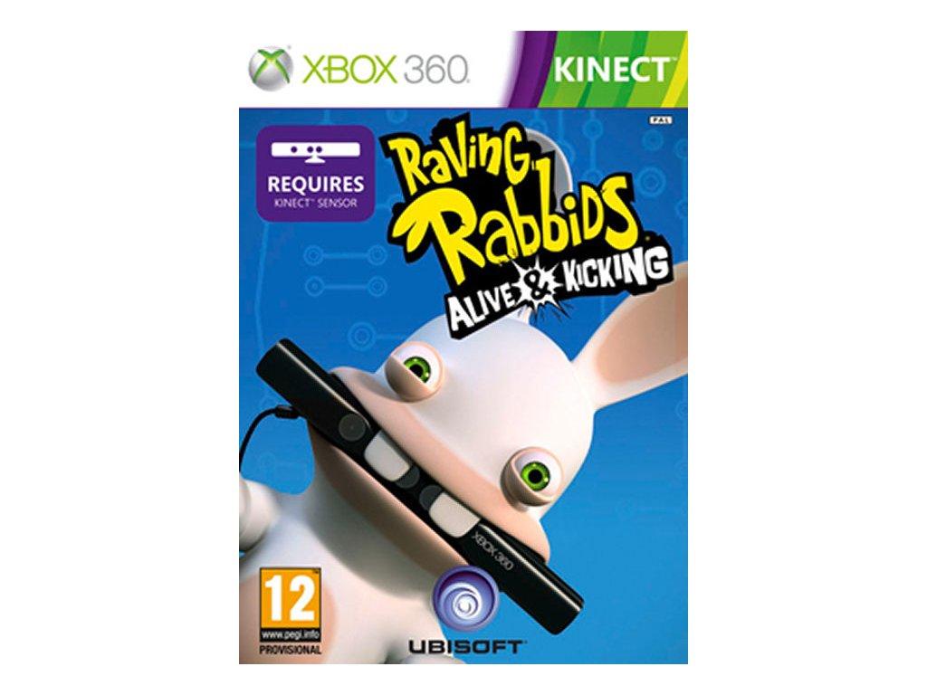 Xbox 360 Kinect Rabbids Alive And Kicking